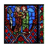 Window W01 Depicting the Visitation Giclee Print
