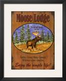 Moose Lodge Posters by Debi Hron