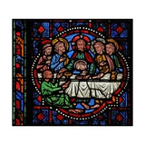 Window W02 Depicting the Last Supper Giclee Print