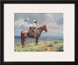West Texas Cow Hunter Prints by Martin Grelle