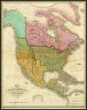 Map of North America Including All the Recent Geographical Discoveries, c.1826 Prints by Anthony Finley