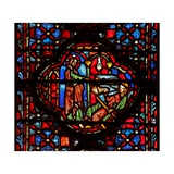 Window W4 God Finds Achan Guilty of Plundering and Keeping Josh VII 18 Giclée-Druck
