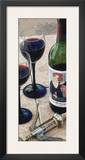 Mademoiselle's Cabernet Prints by Tracey Renee