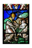 Window W2 Depicting the Creation of Adam Giclee Print