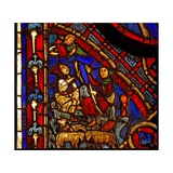 Depicting the Annunciation to the Shepherds (Ex Varennes-Jarcy - Originally from the Abbey De… Giclee Print