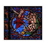 Window W02 Depicting the Harrowing of Hell Giclee Print