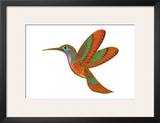 Hummingbird Cameo Prints by Matt James