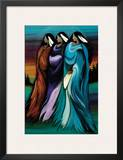 Three Sisters Prints by Betty Albert