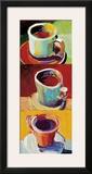 Three Cups o' Joe II Prints by Robert Burridge