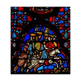 Window W4 Amorite Kings Flee Josh X 19-20 Giclee Print