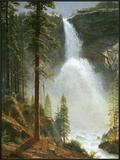 Nevada Falls Prints by Albert Bierstadt