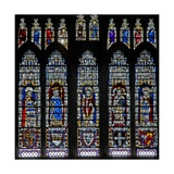 Window C18 Depicting Kings and Archbishops Giclee Print