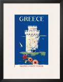 Greece Tower of Solonica c.1952 Prints
