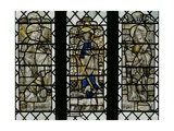 Window W8 Depicting St Andrew, St Gabriel, St Raphael Giclee Print