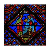 Window W2 Moses Breaks the Tables of the Law Ex Xxxii 19 Giclee Print
