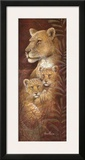 Serengeti Twins Print by Ruane Manning