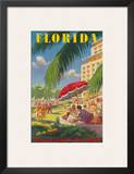 Pennsylvania Railroad, Florida Poster