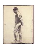 Stehender männlicher Akt Giclée-Druck von Félix Vallotton