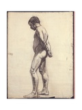 Standing Male Nude Giclee Print by Félix Vallotton