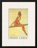 Monte-Carlo, France, c.1945 Posters by Jean-Gabriel Domergue