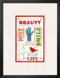 Beauty Love Posters by Sharyn Sowell