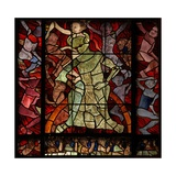 Window W16 Depicting a Scene from the Last Judgement: the Damned Giclée-Druck