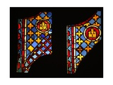 Depicting Heraldic Panels, Ex Ste Chapelle Giclee Print