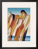 Black Hills Woman Print by Maxine Noel