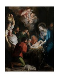 The Birth of Christ Giclée-Druck von Cornelis de Vos