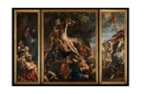 Raising of the Cross, C.1610-11 Giclee Print by Peter Paul Rubens