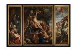 Raising of the Cross, C.1610-11 Giclee Print by Peter Paul Rubens