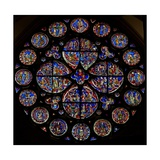 "The ""Dean's Eye"" Depicting the Last Judgement and Other Interpolated Panels Giclee Print"
