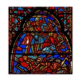 Window W4 the Children of Israel Massacre their Enemies Josh X 21-24 Giclee Print