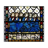 Window W45 Depicting Donors Giclee Print