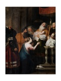 The Purification of the Presentation in the Temple Giclée-Druck von Cornelis de Vos