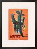 Mexico: Mariachi Cactus, c.1945 Posters
