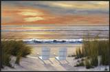Paradise Sunset Posters by Diane Romanello