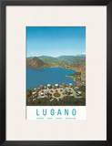 Lugano, Switzerland, c.1957 Prints