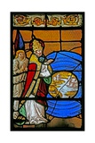 Window W2 Depicting the Creation of the Sea and Dry Land Giclee Print