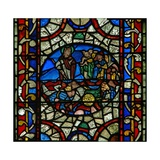 Window N.Ii Depicting Moses; Pharaoh's Army Drowns in the Red Sea Giclee Print