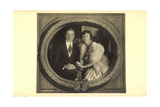 Ak Erbprinz Franz Josef Und Prinzessin Helene Von Thurn Und Taxis Photographic Print by  German photographer