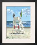Pelican Perch Posters by Scott Westmoreland