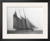 The Schooner Karina at Sail, 1919 Print by Edwin Levick