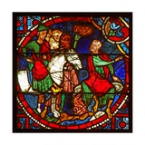 Window W1 Depicting St Paul as Saul at Stephen's Martrydom Giclee Print