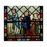 Window W46 Depicting Donors Giclee Print