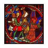 Window W1 Depicting St Stephen's Martyrdom Giclee Print