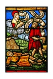 Window W2 Depicting Cain Kills Abel Giclee Print