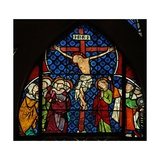 Window W12 Depicting the Crucifixion Giclée-Druck
