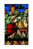 Window W2 Depicting the Creation of the Animals Giclee Print