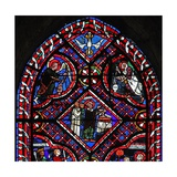 Window W03 Depicting the Mass of St John Giclee Print